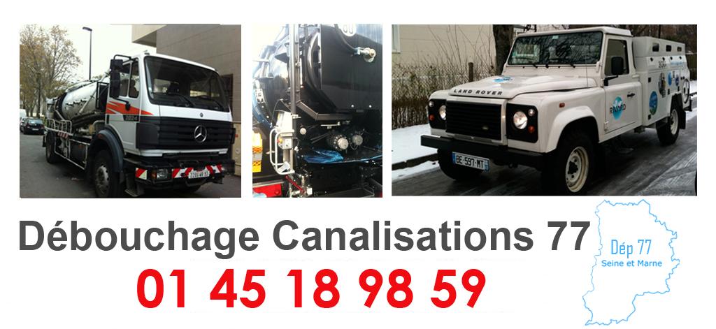 camion pompe 77, Dégorgement canalisation Seine et Marne, plombier 77